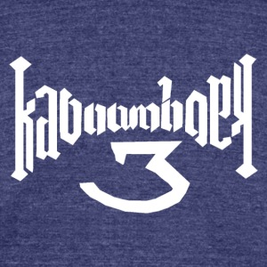 Kaboom Holy - Unisex Tri-Blend T-Shirt by American Apparel