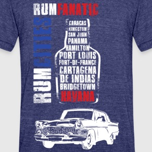 Rum Fanatic T-shirt - Havana - Unisex Tri-Blend T-Shirt by American Apparel