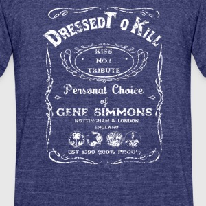 dressed to kill - Unisex Tri-Blend T-Shirt by American Apparel