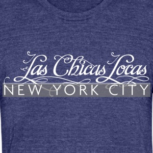 LCL White Logo NYC! - Unisex Tri-Blend T-Shirt by American Apparel