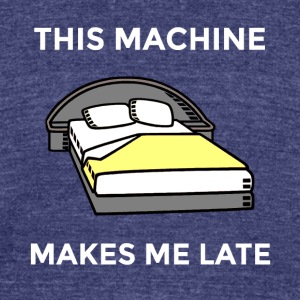 Machine - Unisex Tri-Blend T-Shirt by American Apparel