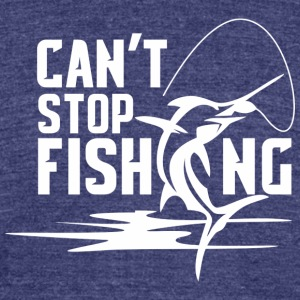 Fishing t-shirt - Unisex Tri-Blend T-Shirt by American Apparel