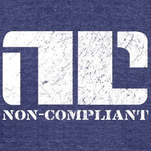 Non-Compliant - Unisex Tri-Blend T-Shirt by American Apparel