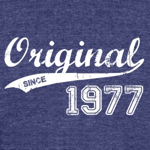 1977 - Unisex Tri-Blend T-Shirt by American Apparel
