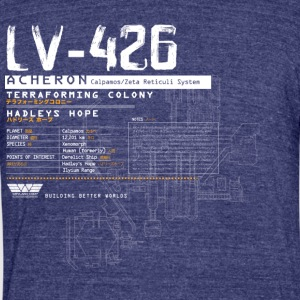 LV-426 - Unisex Tri-Blend T-Shirt by American Apparel