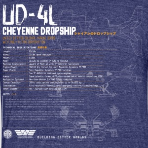 UD-4L Cheyenne Dropship - Unisex Tri-Blend T-Shirt by American Apparel
