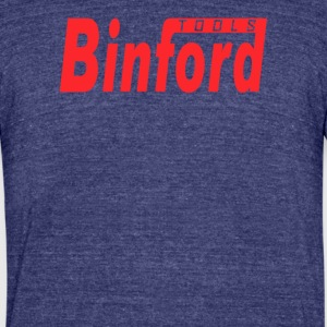 Tools binford - Unisex Tri-Blend T-Shirt by American Apparel