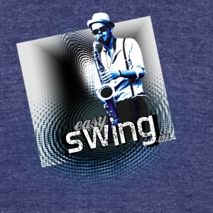swing03 - Unisex Tri-Blend T-Shirt by American Apparel