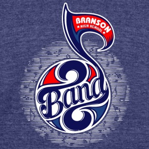 Branson High School Band - Unisex Tri-Blend T-Shirt by American Apparel