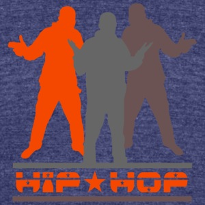 HiP * HoP - Unisex Tri-Blend T-Shirt by American Apparel