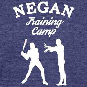 Negan Training Camp T Shirt - Unisex Tri-Blend T-Shirt by American Apparel