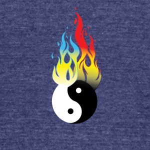 NEw Fireball - Unisex Tri-Blend T-Shirt by American Apparel