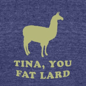 Napoleon Dynamite - Tina the Llama - Unisex Tri-Blend T-Shirt by American Apparel