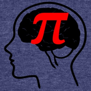 pi - Unisex Tri-Blend T-Shirt by American Apparel