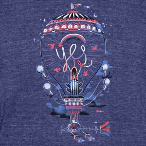 Idea Machine - Unisex Tri-Blend T-Shirt by American Apparel