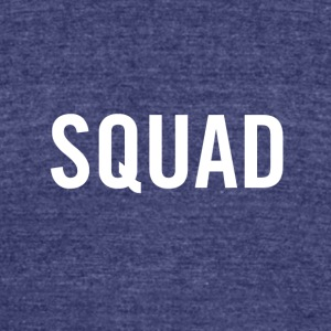 Squad White - Unisex Tri-Blend T-Shirt by American Apparel