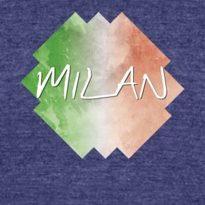 Milan - Unisex Tri-Blend T-Shirt by American Apparel