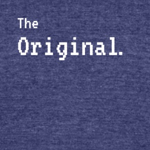 The Original - The Remix Funny Matching - Unisex Tri-Blend T-Shirt by American Apparel