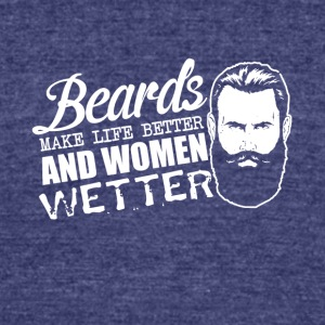 Beard Club - Unisex Tri-Blend T-Shirt by American Apparel