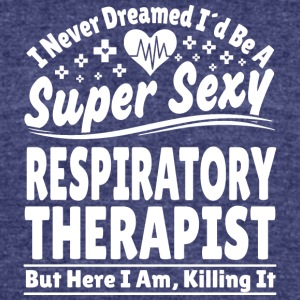 Respiratory Therapist - Unisex Tri-Blend T-Shirt by American Apparel
