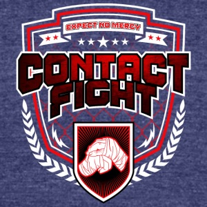 Contact Fight Knuckles - Unisex Tri-Blend T-Shirt by American Apparel