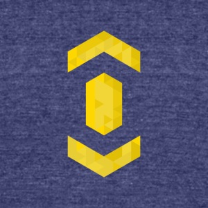 Gold - Unisex Tri-Blend T-Shirt by American Apparel