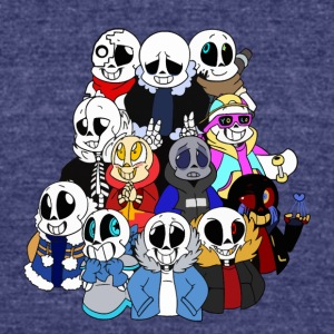 UNDERTALE SANS CHARACTER - Unisex Tri-Blend T-Shirt by American Apparel