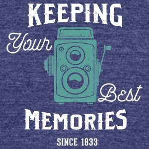 Best memories - Unisex Tri-Blend T-Shirt by American Apparel