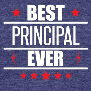 Best Principal Ever - Unisex Tri-Blend T-Shirt by American Apparel