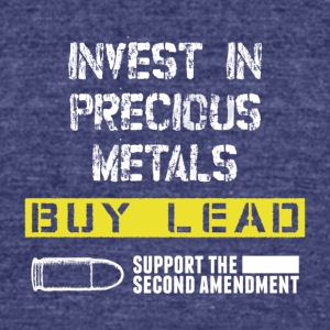 Support the second amendment - Unisex Tri-Blend T-Shirt by American Apparel