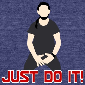 Just_Do_It_fun - Unisex Tri-Blend T-Shirt by American Apparel