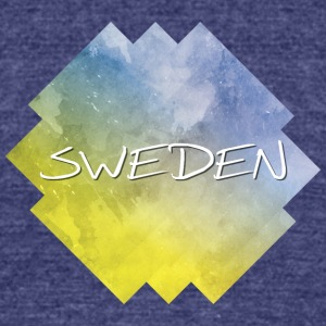 Sweden - Unisex Tri-Blend T-Shirt by American Apparel