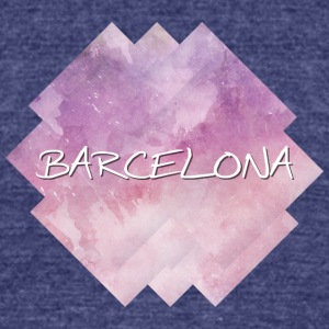 Barcelona - Unisex Tri-Blend T-Shirt by American Apparel