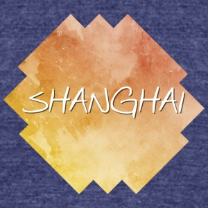 Shanghai - Unisex Tri-Blend T-Shirt by American Apparel