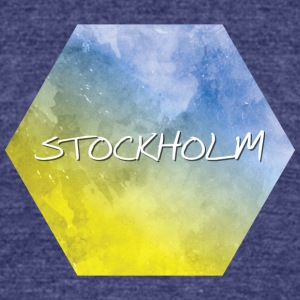 Stockholm - Unisex Tri-Blend T-Shirt by American Apparel