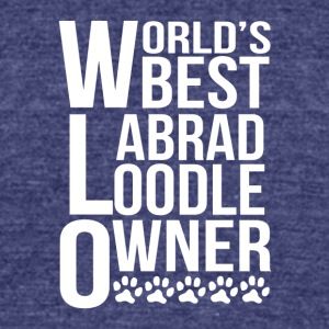 World's Best Labradoodle Owner - Unisex Tri-Blend T-Shirt by American Apparel