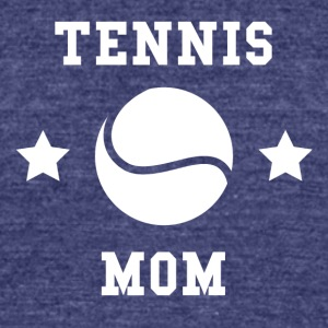 Tennis Mom - Unisex Tri-Blend T-Shirt by American Apparel