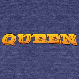 Queen - Unisex Tri-Blend T-Shirt by American Apparel