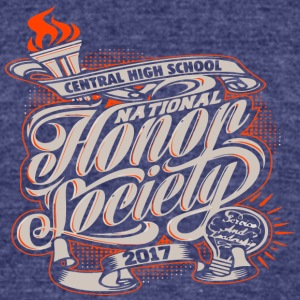 CENTRAL HIGH SCHOOL NATIONAL 2017 - Unisex Tri-Blend T-Shirt by American Apparel