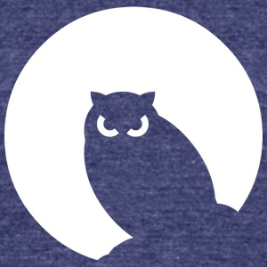 Night Owl - Unisex Tri-Blend T-Shirt by American Apparel