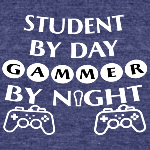 Gammer Shirt!! - Unisex Tri-Blend T-Shirt by American Apparel