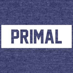 Primal Brand - Unisex Tri-Blend T-Shirt by American Apparel