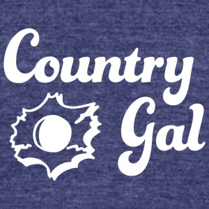 Country Gal - Unisex Tri-Blend T-Shirt by American Apparel