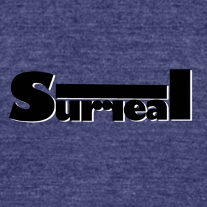 Surreal logo - Unisex Tri-Blend T-Shirt by American Apparel