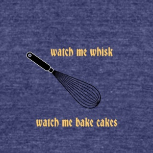 watchmewhisk - Unisex Tri-Blend T-Shirt by American Apparel