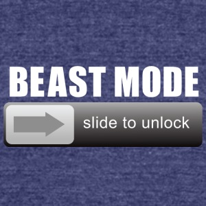 Unlock Your Inner Beast - Unisex Tri-Blend T-Shirt by American Apparel