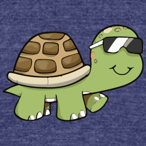 Turtle - Unisex Tri-Blend T-Shirt by American Apparel