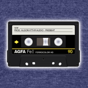 Cassette - Unisex Tri-Blend T-Shirt by American Apparel