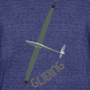 Gliding - Unisex Tri-Blend T-Shirt by American Apparel