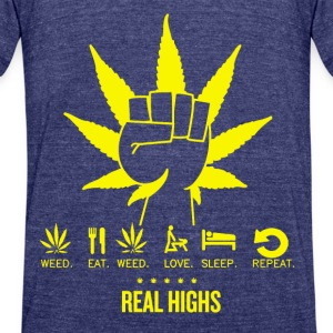 realhigh - Unisex Tri-Blend T-Shirt by American Apparel